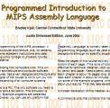 Programmed Introduction to MIPS Assembly Language by  Bradley Kjell